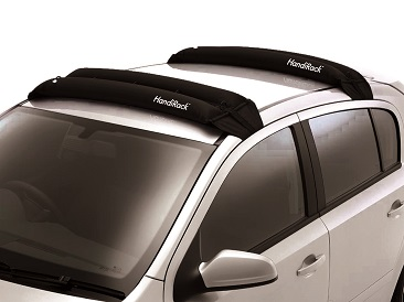 Luggage carrier inflatable